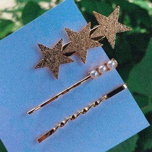 Accessories - Star hair pin set